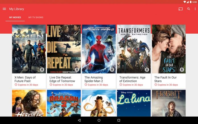 Google Play is Offering all movie rentals under $1 on Thanksgiving !!